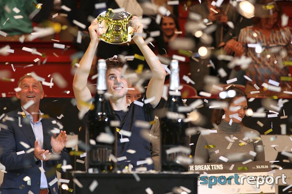 Dominic Thiem tankt mit Tie-Break-Tens-Triumph viel Selbstvertrauen für die Erste Bank Open 500