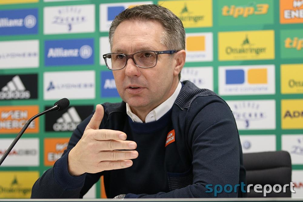 """Damir Canadi (Trainer Rapid Wien): """"Nie und nimmer Elfmeter"""""""