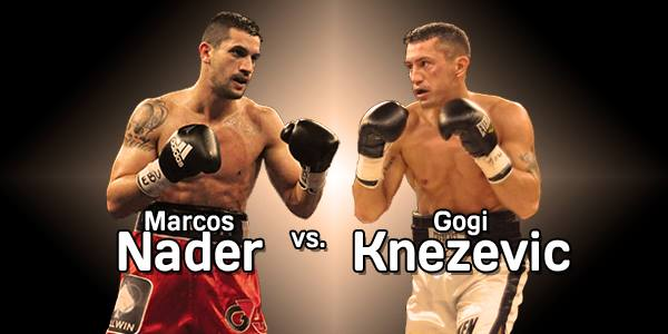 Box, Boxen, Boxsport, Nader, Marcos Nader, Knezevic, Gogi Knezevic, WBC, Wien
