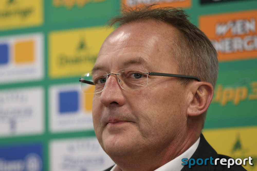 Fußball, Bundesliga, Tipico Bundesliga, Rapid Wien, Fredy Bickel, Trainer, Fred Rutten