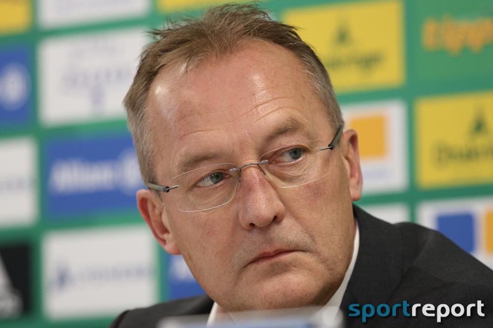 """Fredy Bickel (Sportdirektor SK Rapid Wien): """"Vielleicht tut es dem einen oder anderen Spieler gut, wenn er zwischendurch Luft in der zweiten Mannschaft schnuppert"""""""