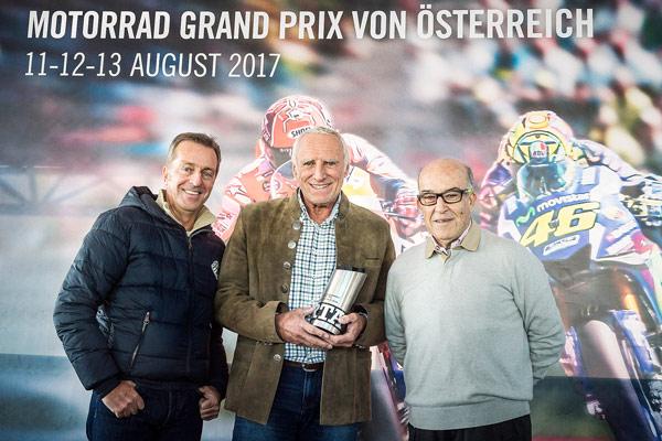 Motorsport, Rennen, Spielberg, Motorrad WM, Red Bull, Dietrich Mateschitz, Auszeichnung