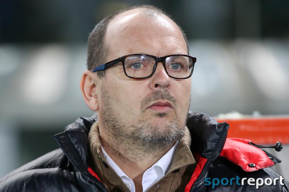 """Martin Scherb (Trainer SCR Altach): """"Das war ein Skandal diese beiden Pfiffe."""""""