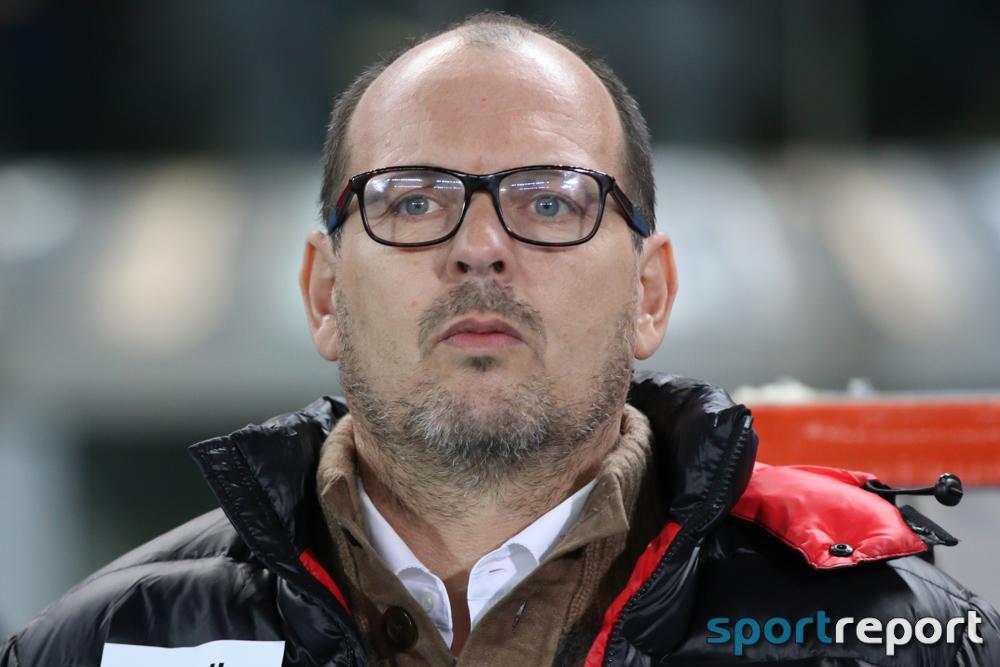 """Martin Scherb (Trainer SCR Altach): """"Es ist klar, dass Menschenopfer gefordert werden."""""""