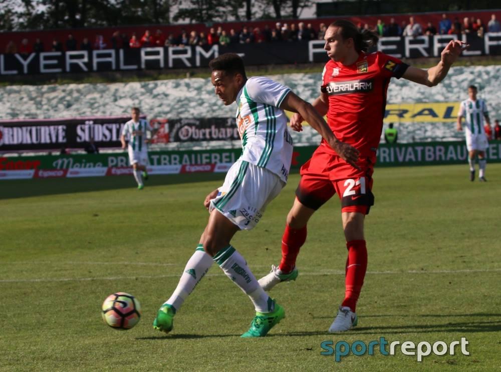 """Dank """"Last-Minute-Tor"""" von Monschein – Admira Wacker stoppt zarten Aufwärtstrend von Rapid Wien"""