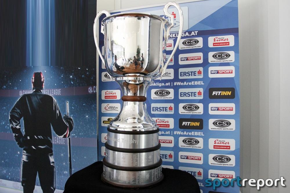 Eishockey, EBEL, Erste Bank Eishockey Liga, Spielplan, Saison 2017/2018, Vienna Capitals, KAC