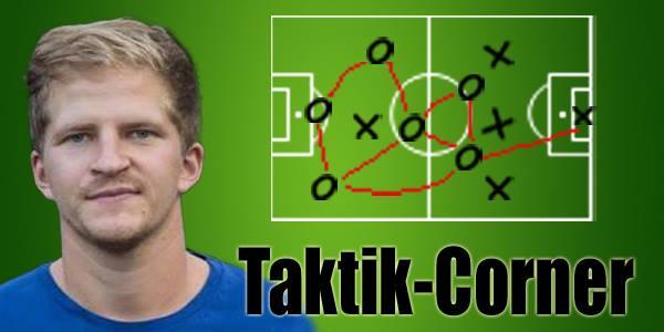Fußball, Taktik, Taktik Corner, Sportreport, Fiala, Wolfgang Fiala, Spielverlagerung