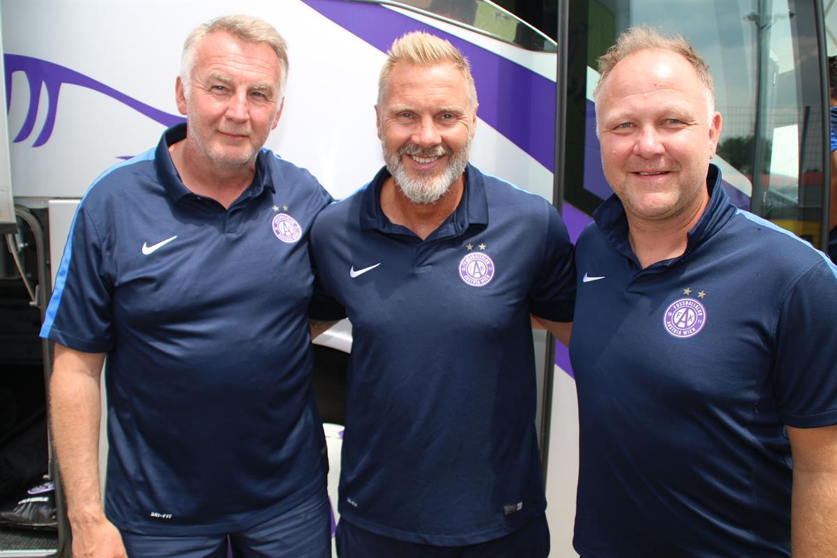 Fußball, Austria Wien, Tipico Bundesliga, Trainerteam, Egbert Zimmermann, Zimmermann