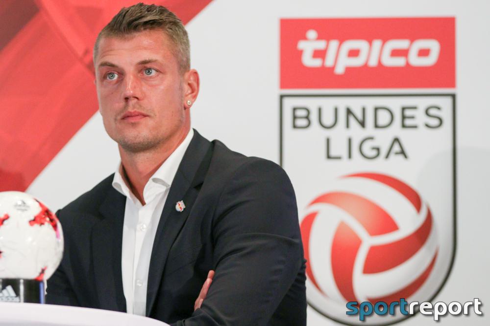 Fußball, Tipico Bundesliga, Peter Zulj, Alexander Walke, Harald Lechner