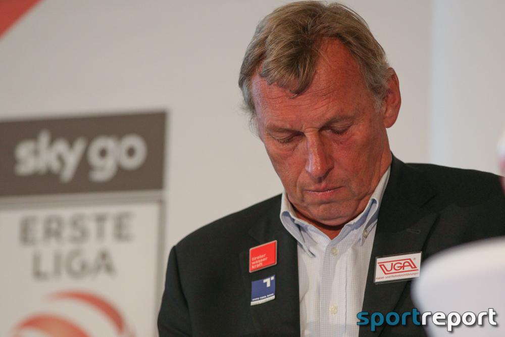 """Karl Daxbacher (Trainer FC Wacker Innsbruck): """"Ich war vor dem Spiel schon sehr skeptisch"""""""