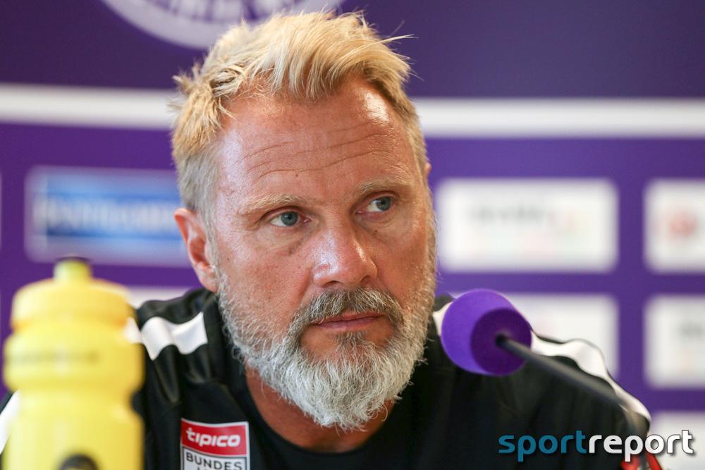 """Thorsten Fink (Trainer Austria Wien): """"Wenn man 2:0 führt möchte man das Spiel gewinnen."""""""