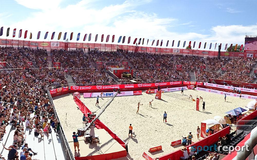 Beachvolleyball, Österreich, FIVB, FIVB World Championships 2017, Donauinsel, IOC-Präsident, Thomas Bach, FIVB-Präsident, Ary S. Graça,  ÖVV, Beachvolleyball-WM, WM,