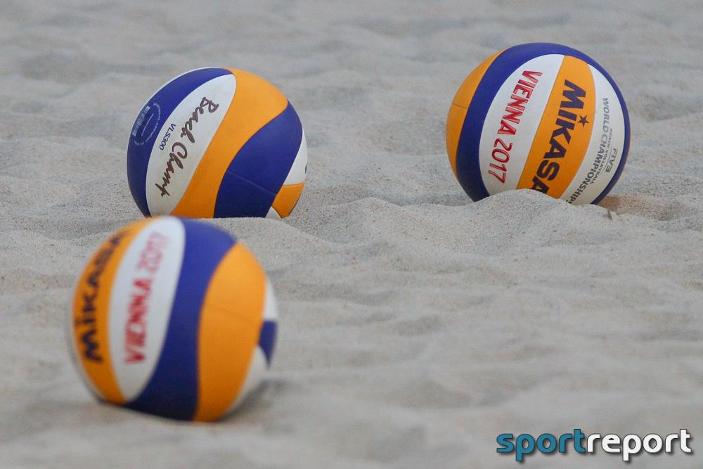 A1 Major Wien, Beachvolleyball, Clemens Doppler, Alex Horst - Foto © Sportreport (Symbolbild)