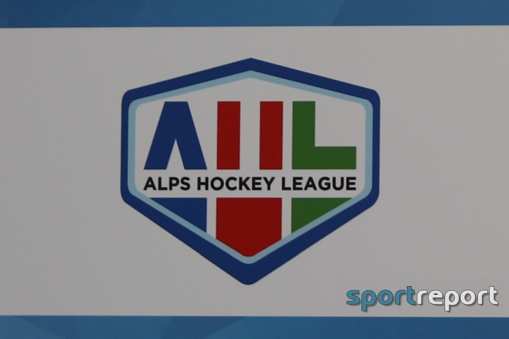 Eishockey, Alps Hockey League, Rittner Buam, Cortina, Francesco Adami, Andrea Moser, Alexander Eisath