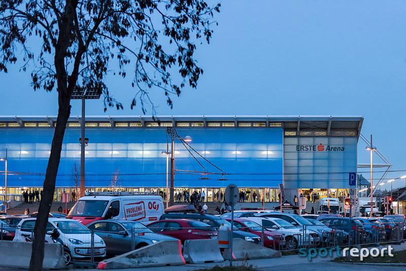 Eishockey, EBEL, Vienna Capitals, Erste Bank Arena, Stehplatz, Sektor Süd