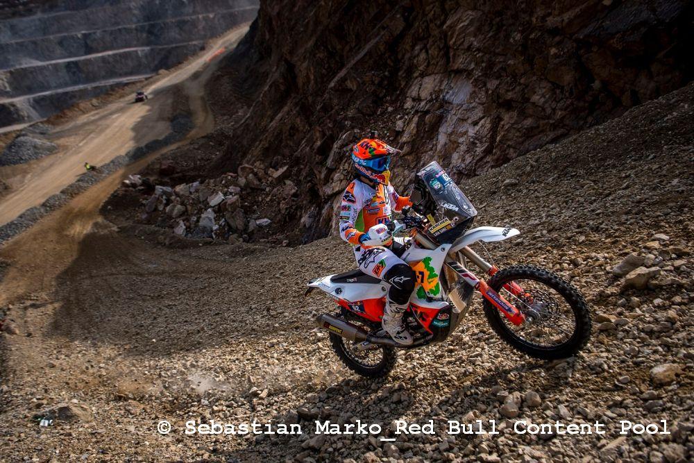 Dakar-Prominenz beim Blakläder Iron Road Prolog am Erzberg