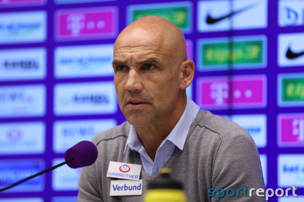 """Austria Wien Trainer Thomas Letsch: """"Das war heute einfach schlecht."""""""
