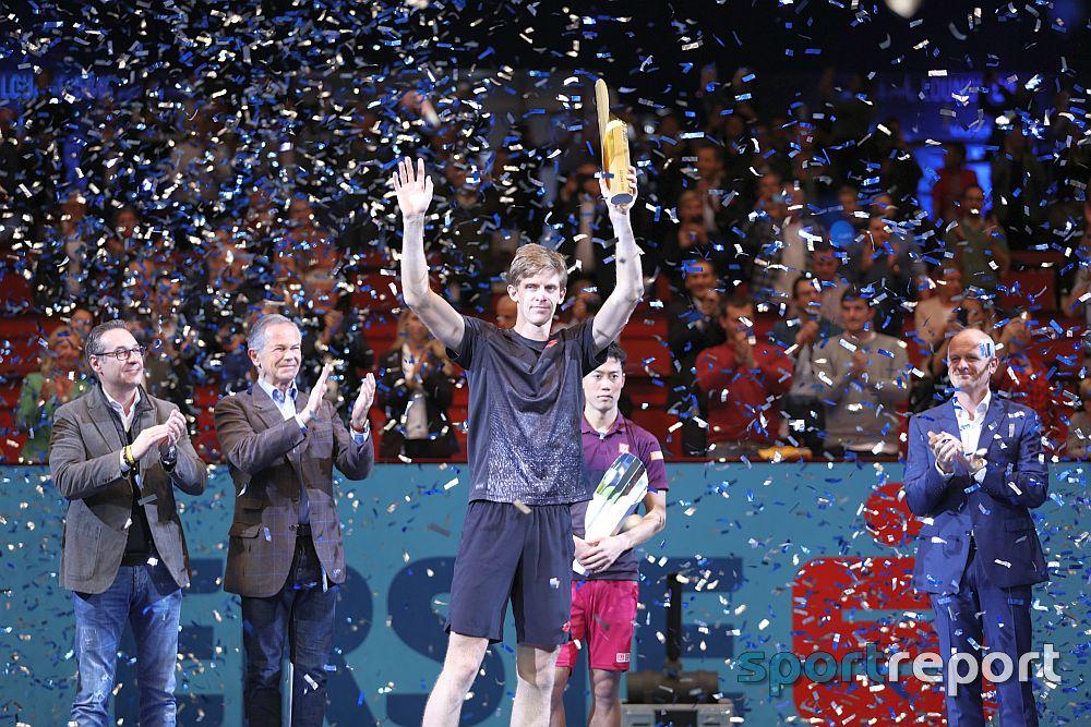 Kevin Anderson triumphiert bei den Erste Bank Open 500