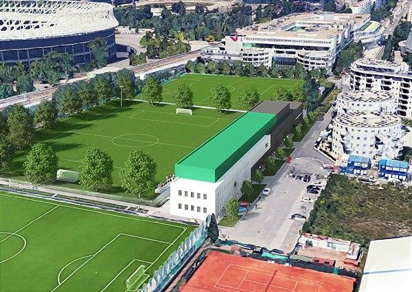 Das neue Trainingszentrum des SK Rapid