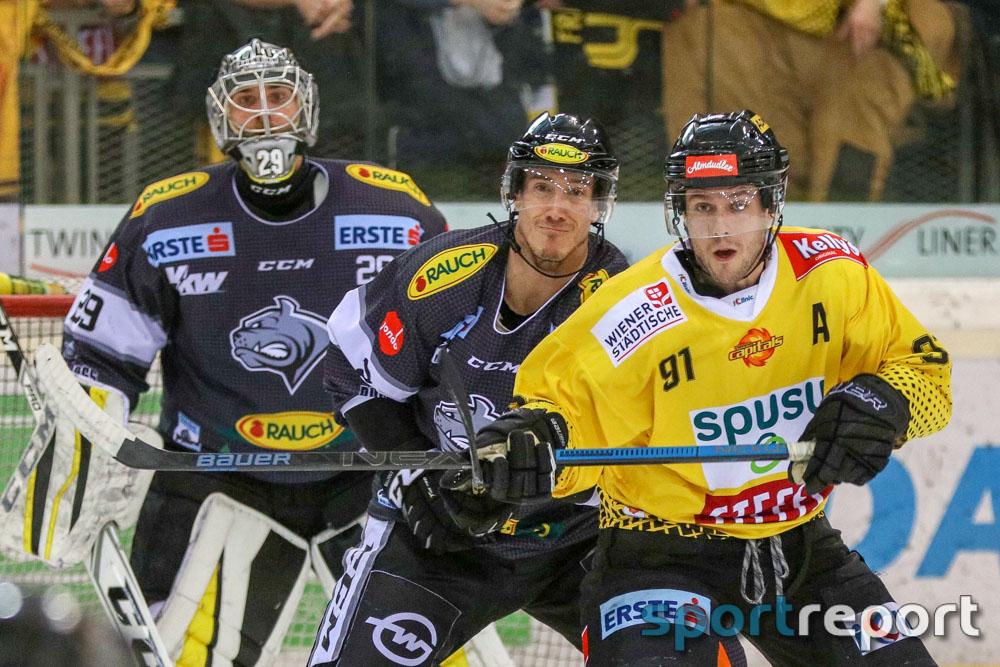 20181208, Österreich, Eishockey, EBEL, 27. Runde, aus der Albert Schultz Halle, Vienna Capitals, Dornbirner EC - Bulldogs