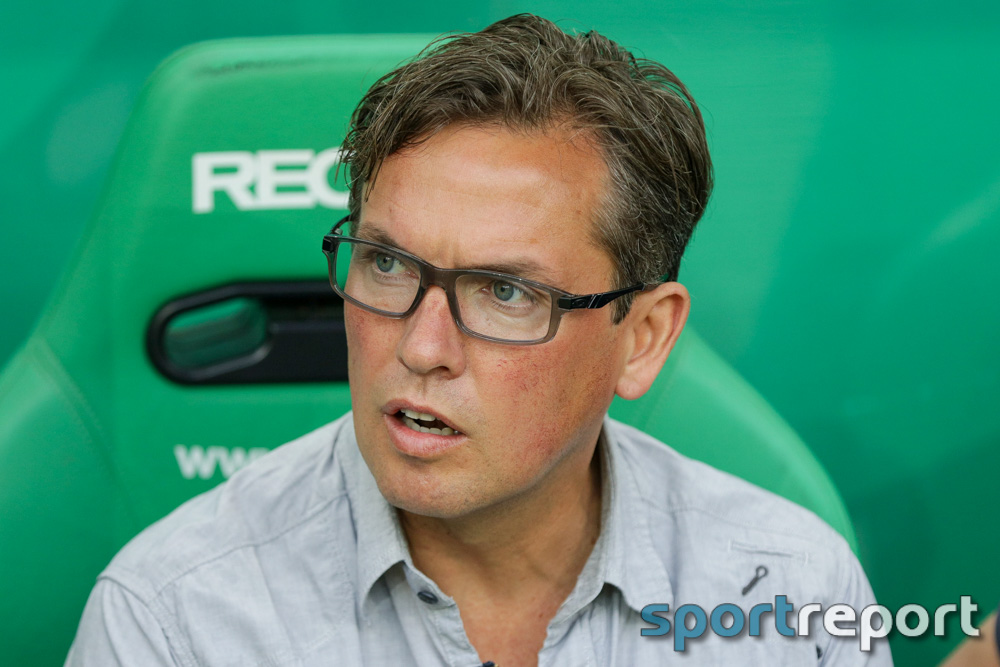 """Alexander Pastoor (Trainer SCR Altach): """"Es war lustig zum Anschauen und lustig zum Spielen"""""""