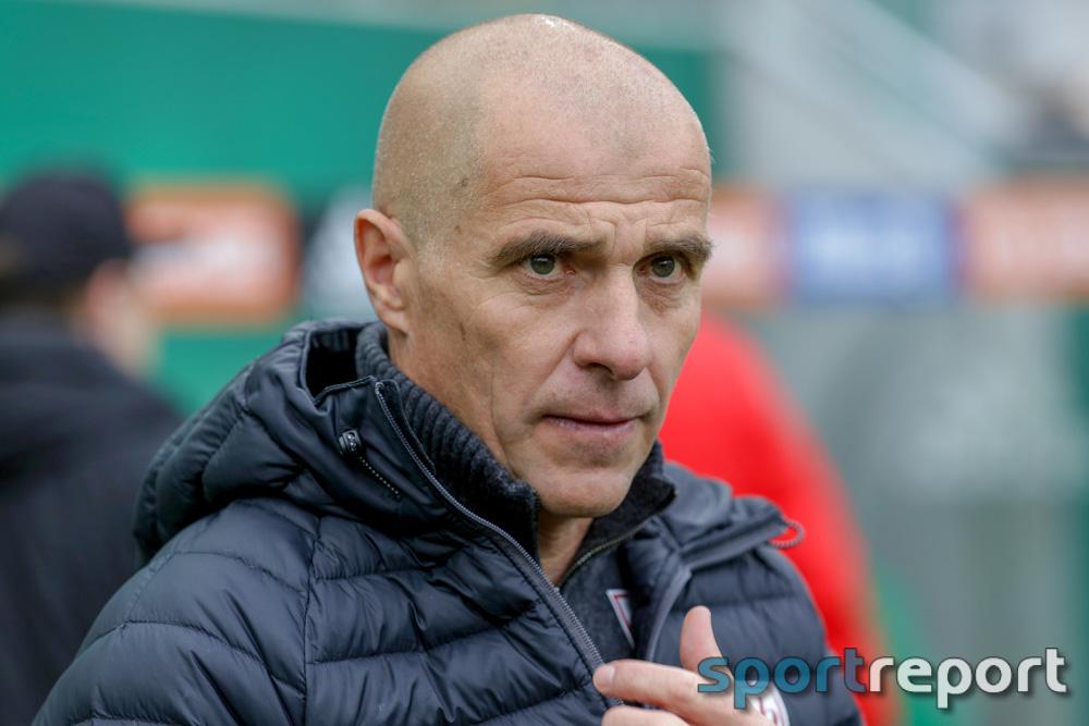 """Klaus Schmidt (Trainer SV Mattersburg): """"Es war heute ein Arbeitssieg"""""""