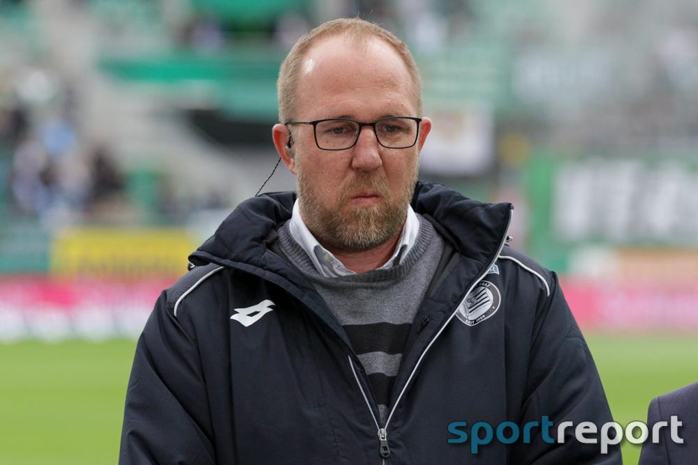 """Günter Kreissl (Geschäftsführer Sport Sturm Graz): """"Ich sehe keine negativen Effekte für die Planung derzeit"""""""