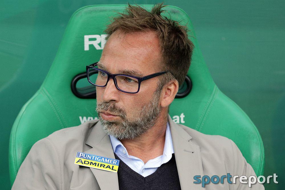 """Roman Mählich (Trainer Sturm Graz): """"Wir stehen bei unseren Anhängern in einer Bringschuld"""""""