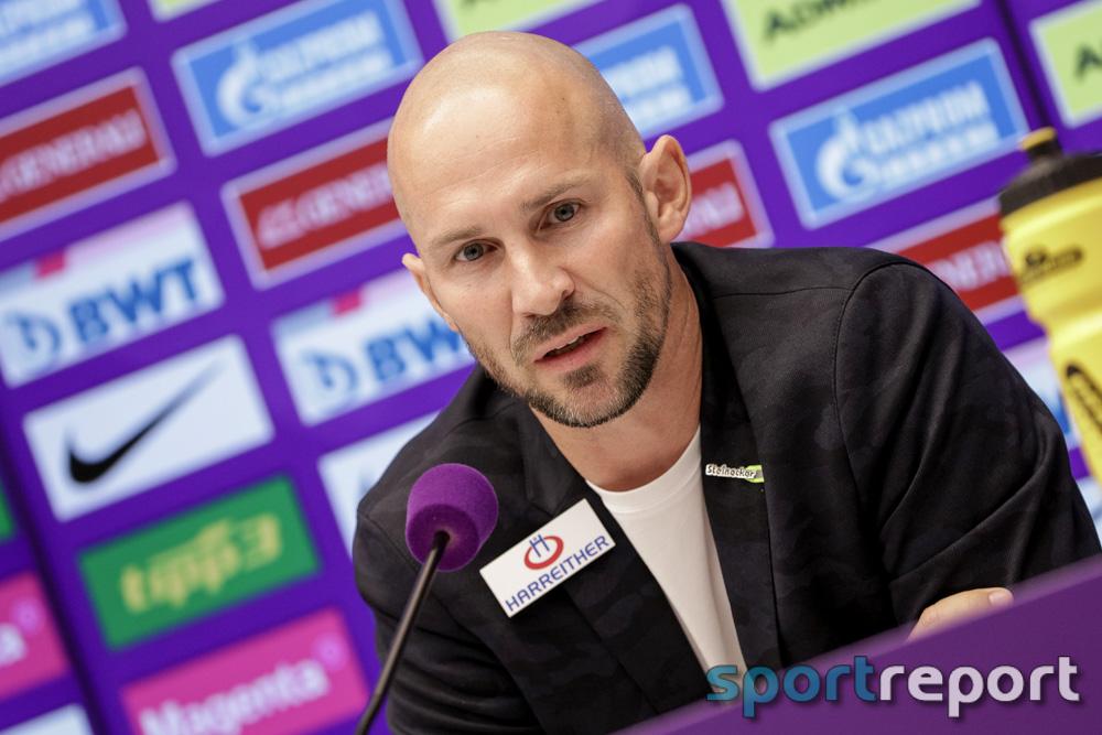 """Christian Ilzer (Trainer Sturm Graz): """"Eine Riesenfreude, wir wollten unsere Spielidee auf den Platz bringen und haben es über weite Strecken gut gemacht"""""""