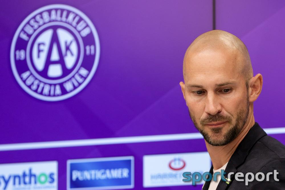 """Christian Ilzer (Trainer Austria Wien): """"Ich muss Verantwortung tragen und der Erste sein, der wieder aufsteht"""""""