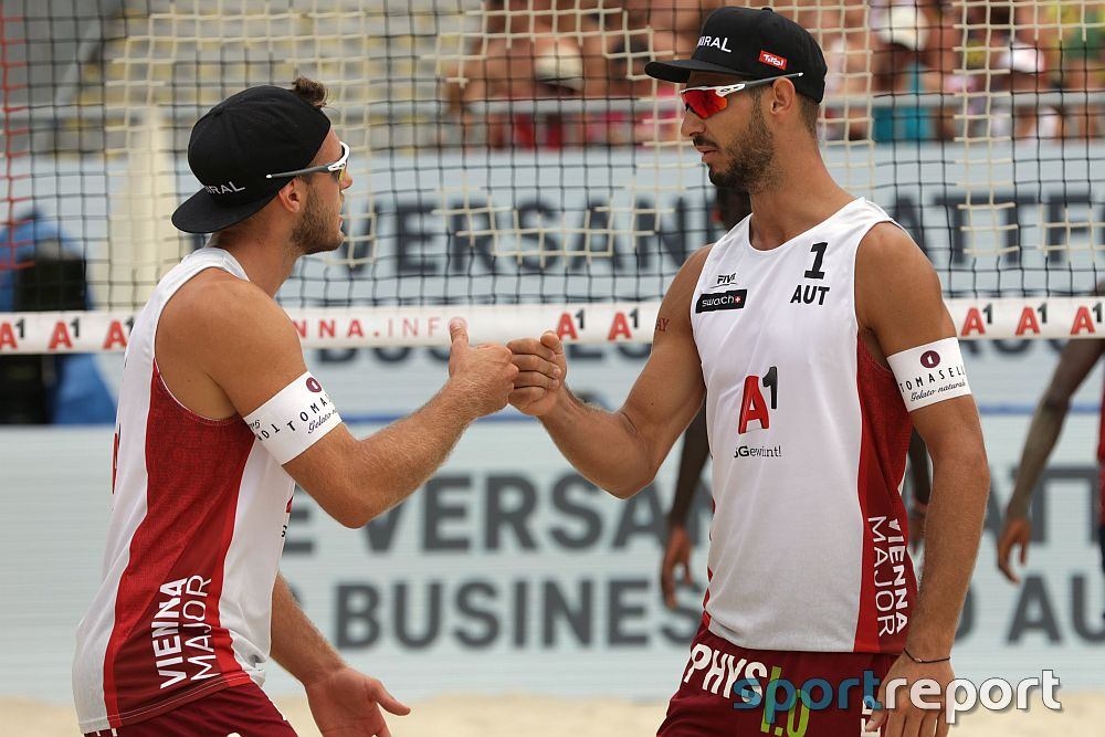 Martin Ermacora/Moritz Pristauz holen Bronze bei den CEV Beach Volleyball European Championship
