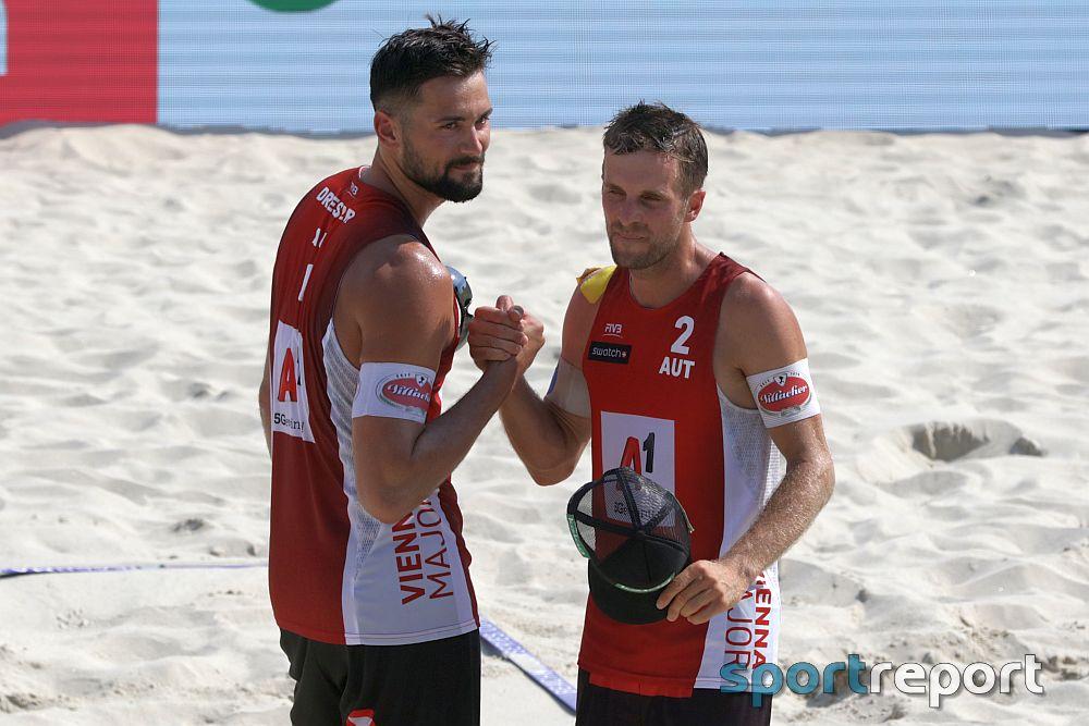 HYPO NOE Beach Volleyball Champions Cup - Dressler/Huber und Radl/Dörfler gewinnen am Mur-Beach