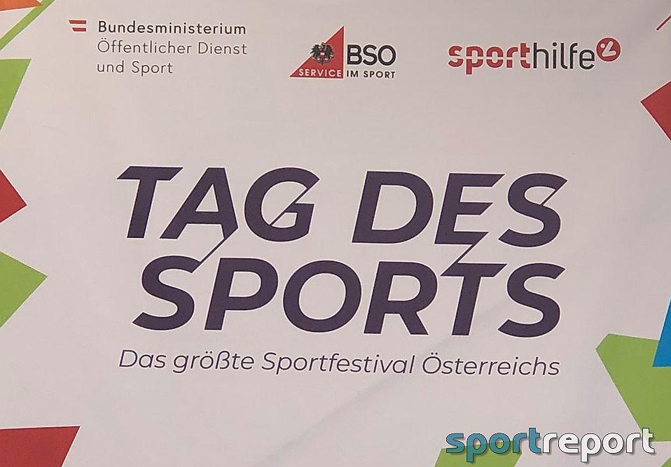 500.000 Menschen feierten den Tag des Sports im Wiener Prater