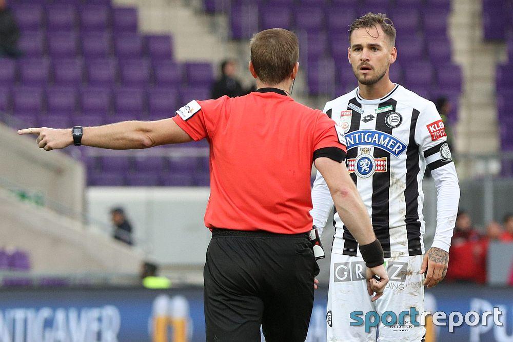"""Lukas Spendlhofer (Sturm Graz): """"Am Papier hat die Austria gewonnen, aber eigentlich haben wir das Spiel für sie gewonnen"""""""