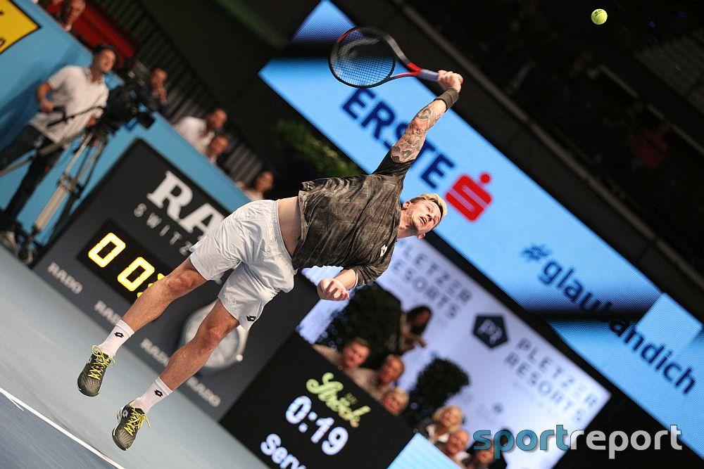 Dennis Novak scheitert in der Auftaktrunde der Erste Bank Open an Gael Monfils