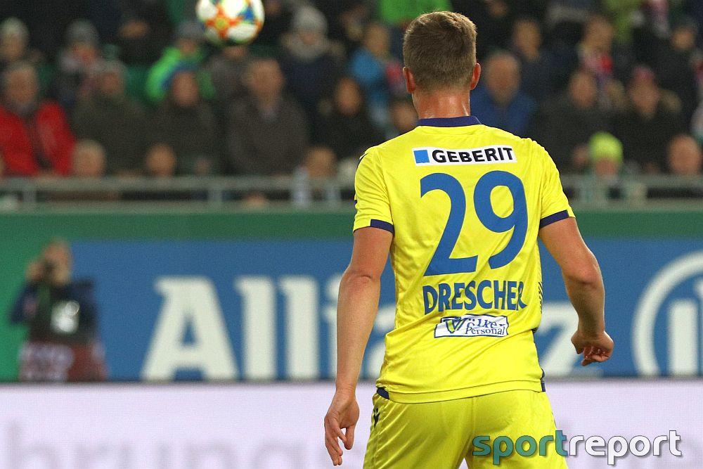 """Daniel Drescher (SKN St Pölten) über seine Vertragsverlängerung: """"Ich musste nicht lange überlegen"""""""