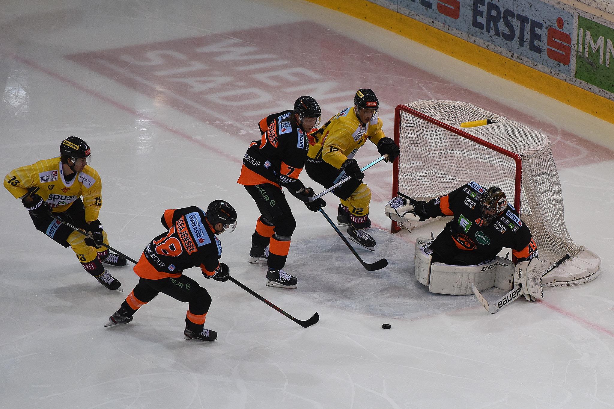 Vienna Capitals vs. Graz 99ers