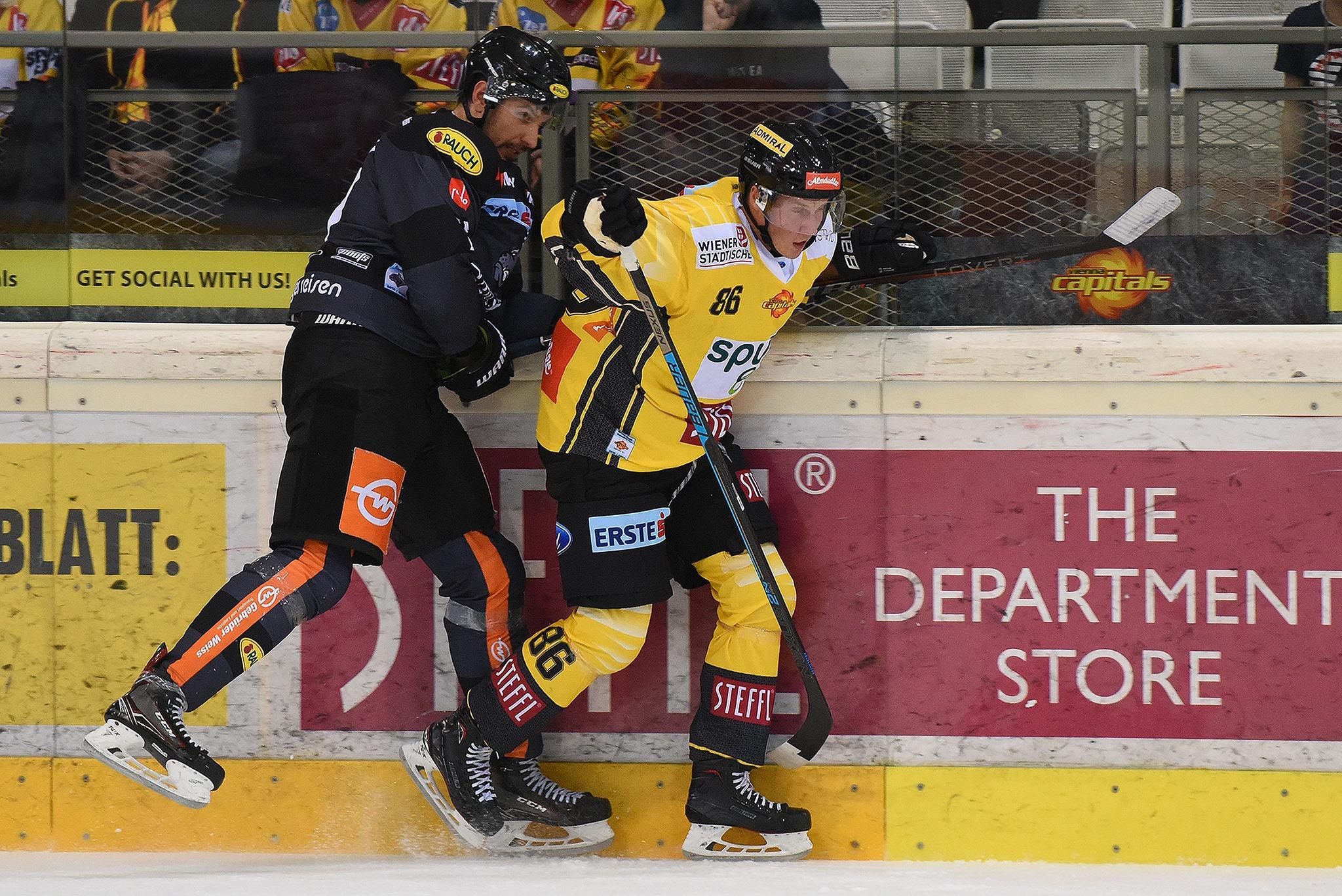 Vienna Capitals vs. Dornbirn Bulldogs