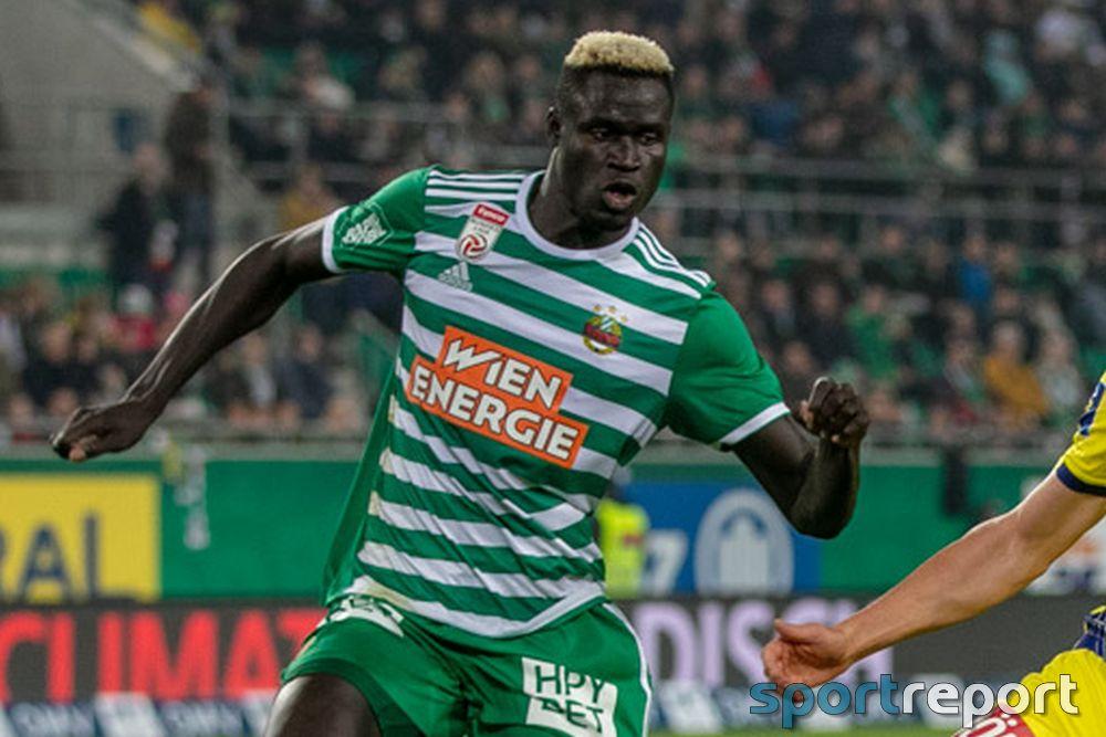 Offiziell: Aliou Badji verlässt Rapid Wien und wechselt nach Ägypten