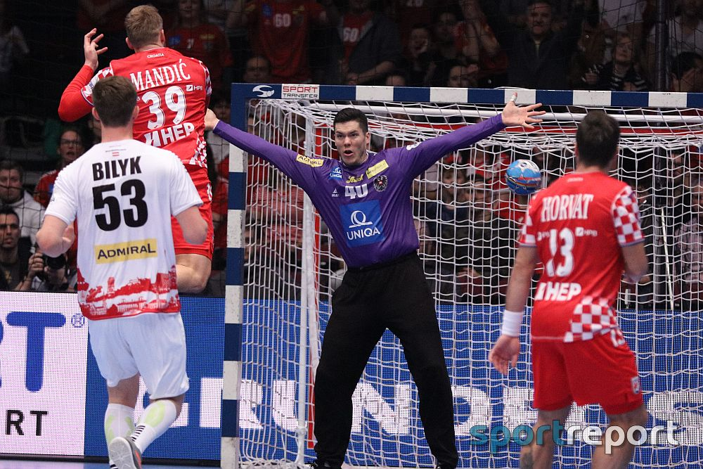 EHF EURO 2020: Österreich mit erster Turnierniederlage - ÖHB Team unterliegt Kroatien