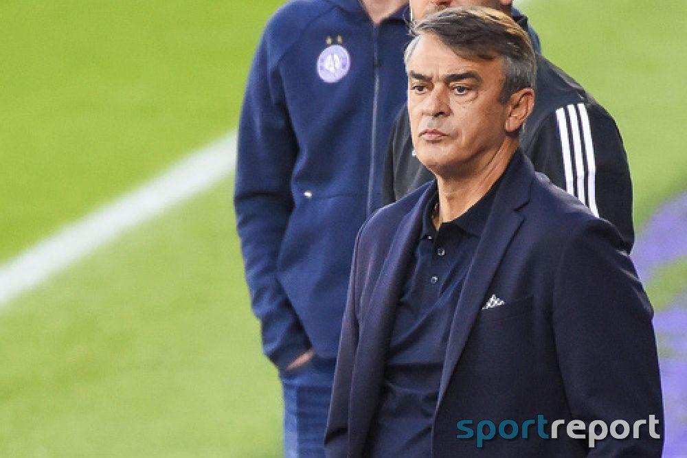 """Damir Burić (Trainer Admira): """"Die zweite Halbzeit war ein No-Go, das geht nicht"""""""