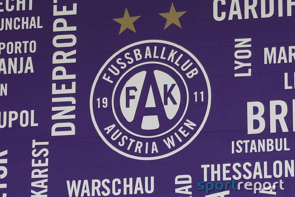 Austria Wien spielt mit Wien-Wappen auf der Brust und spendet