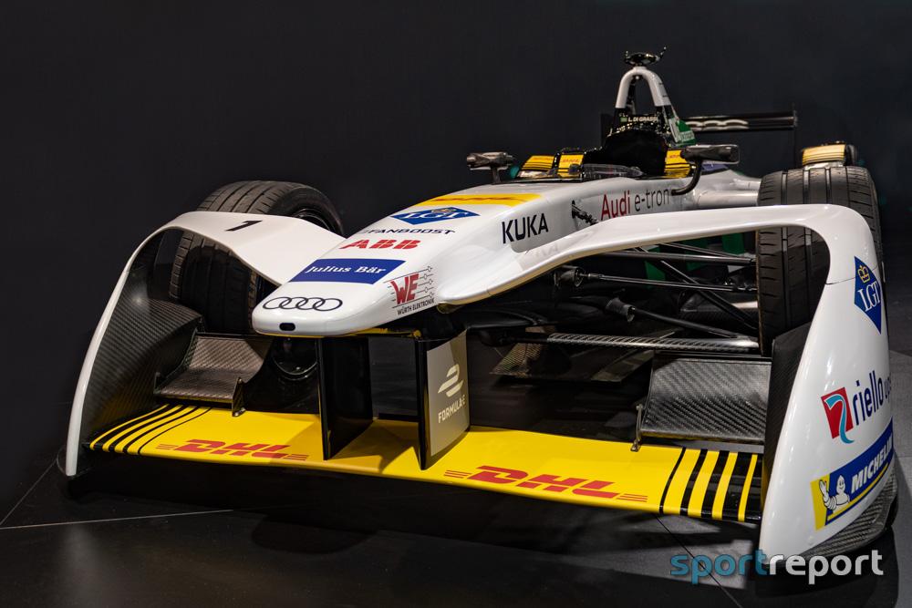 Werbebanner kostet René Rast mögliches Podium beim Formel E-Lauf in Valencia