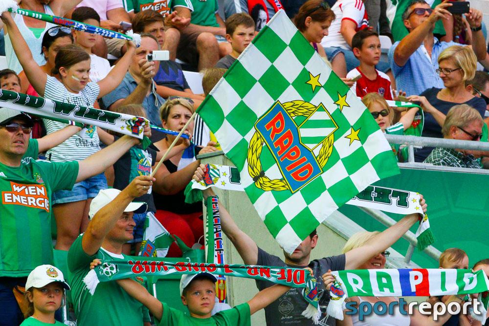 Keine Tore im Testspiel zwischen SK Rapid und Lok Moskau