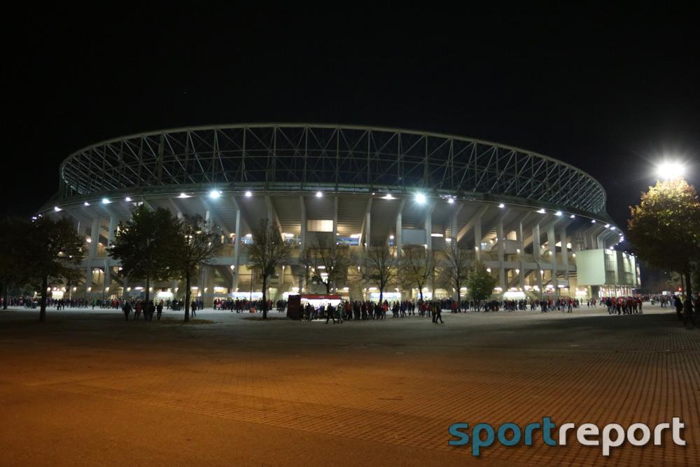 Ernst Happel Stadion, Nationalteam