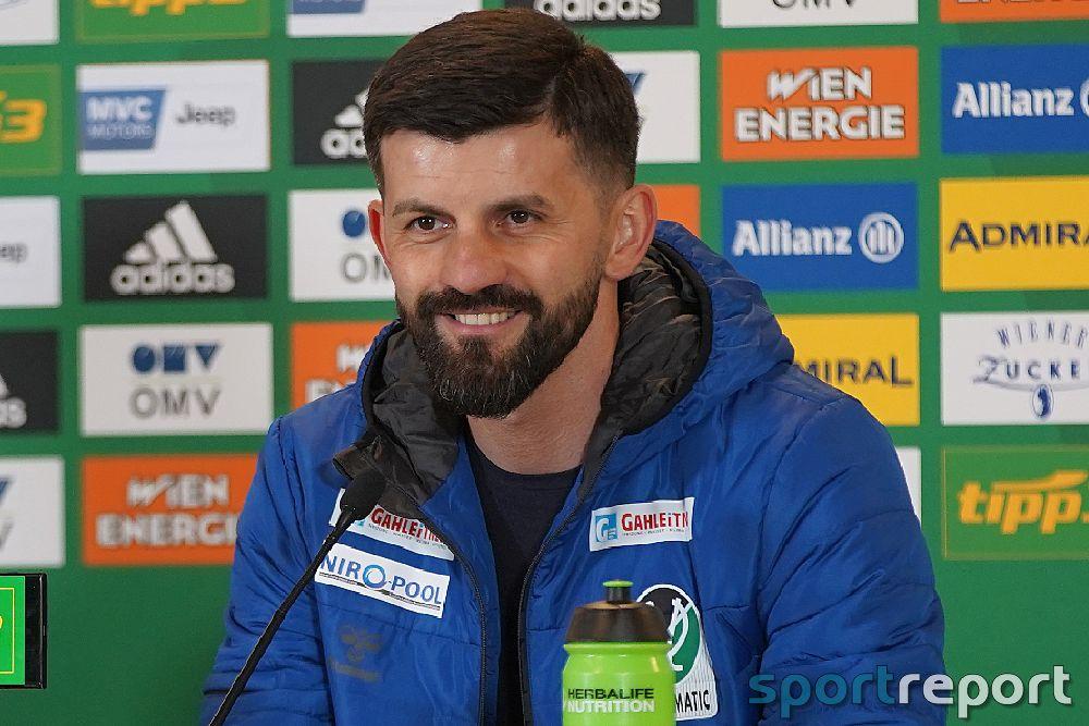 """Miron Muslic (Trainer SV Ried) nach einer weiteren Niederlage: """"Wir haben die Rückendeckung aus der Mannschaft. Alles andere ist sehr, sehr unruhig"""""""