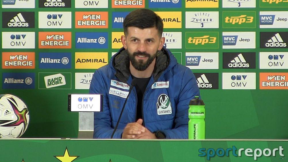 Video: Miron Muslic (Trainer SV Ried) - die Pressekonferenz nach dem Spiel gegen SK Rapid Wien