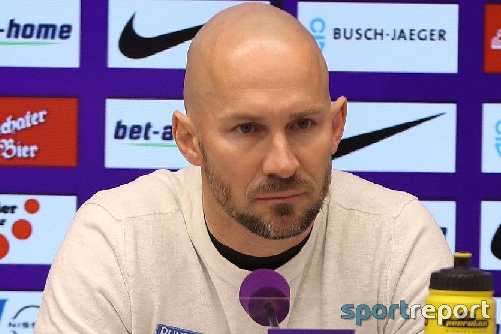 """Christian Ilzer (Sturm Graz): """"Er wollte unbedingt den Sieg und genau so einen Spieler fällt dann der Ball vor die Füße"""""""