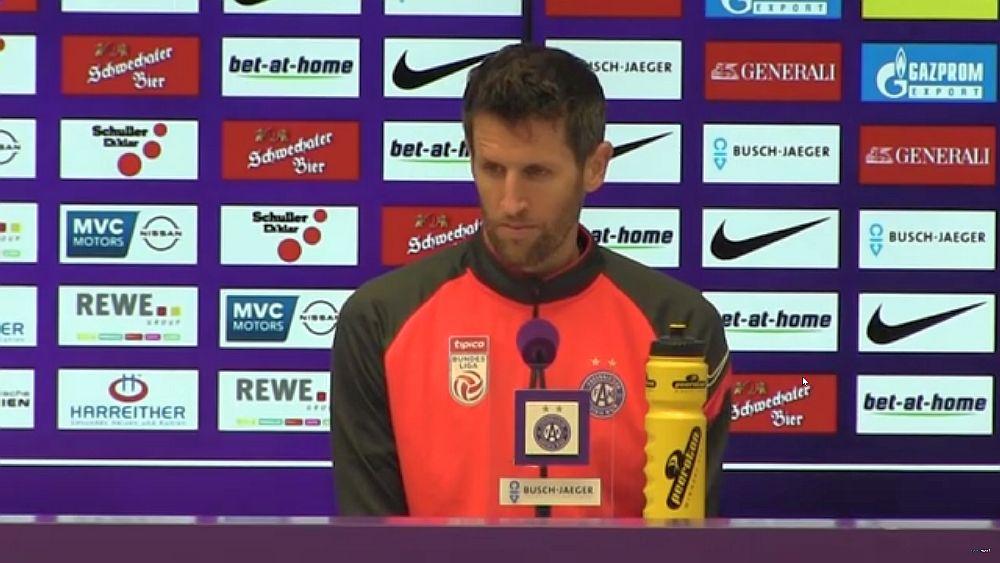Video: Christoph Schösswendter (Austria Wien) - die Pressekonferenz nach dem Spiel gegen SCR Altach