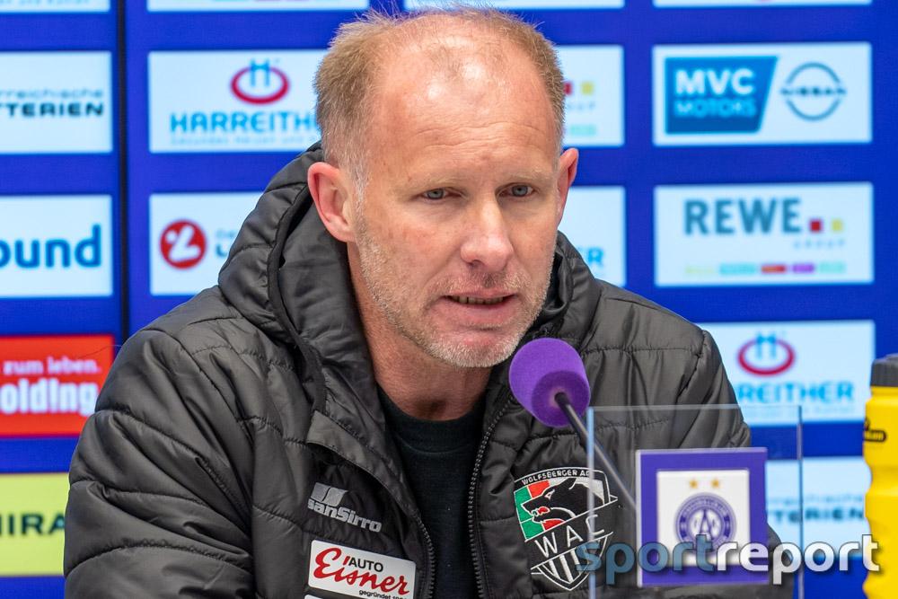 """Roman Stary (Trainer WAC): """"Es wäre ein sehr glücklicher Punkt gewesen, aber den hätten wir genauso genommen"""""""
